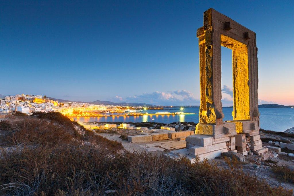 The Naxos Portara