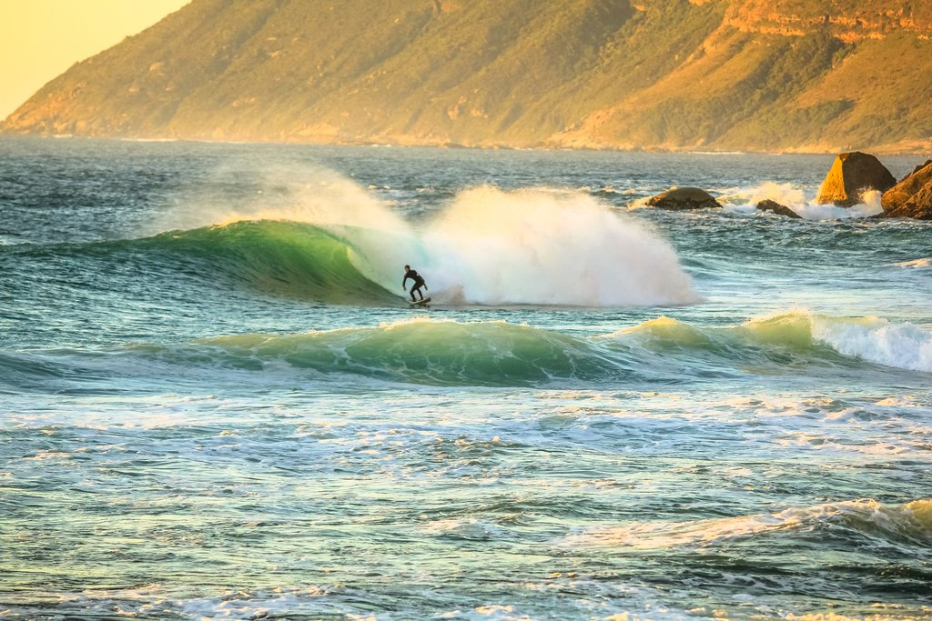 April offers excellent surfing