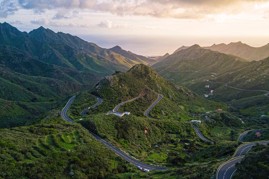 Anaga Mountains on Tenerife, Canary Islands