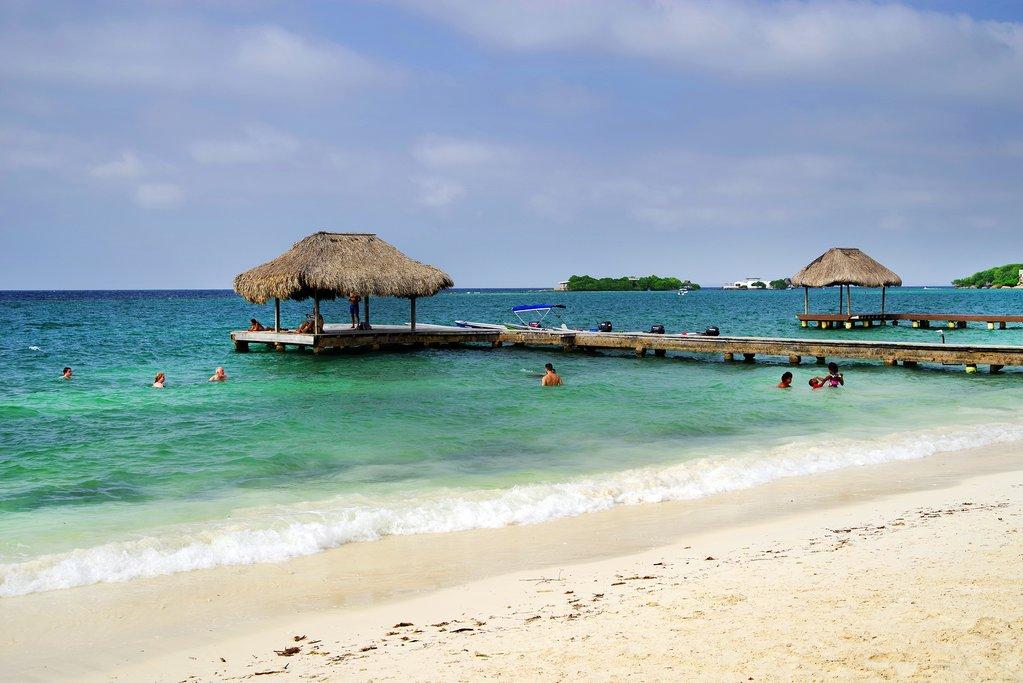 The Rosario Islands off the coast of Cartagena de Indias, Colombia