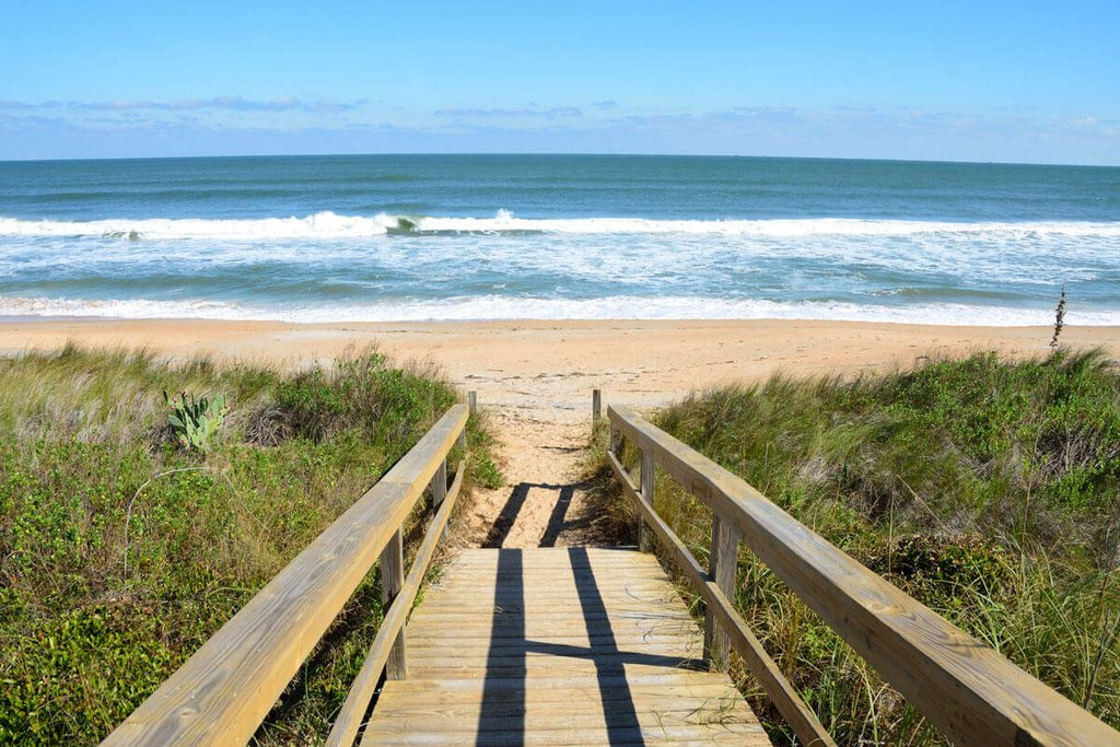 St. Augustine Beach, courtesy of Old Town Trolley Tours