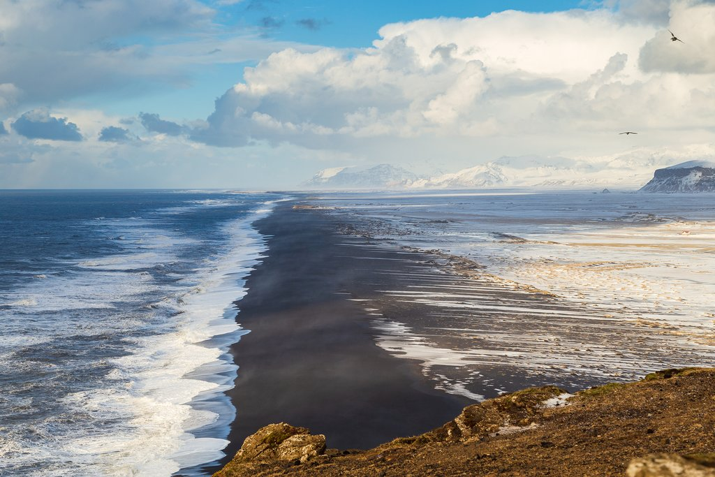 Black Sand Beach near Vík