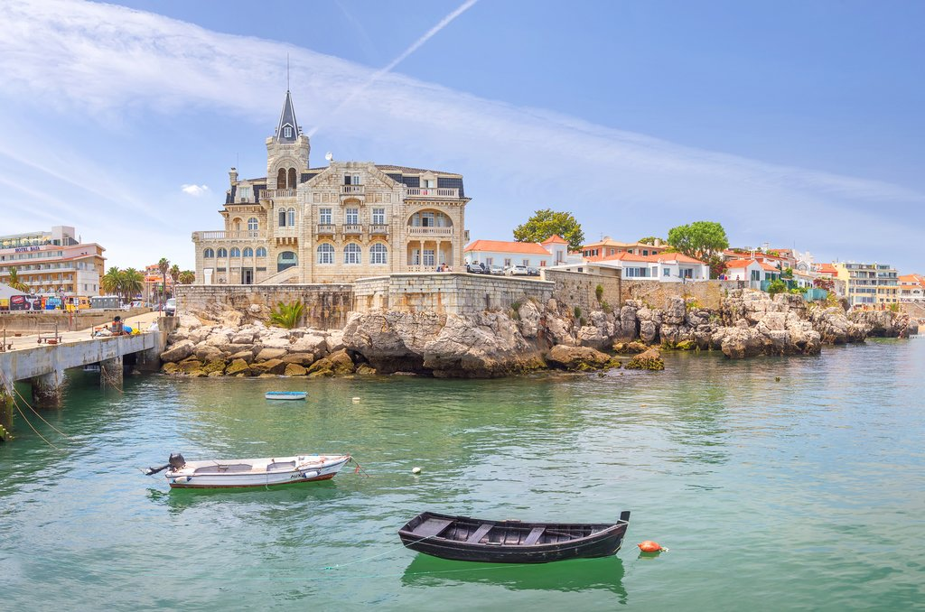Charming town of Cascais