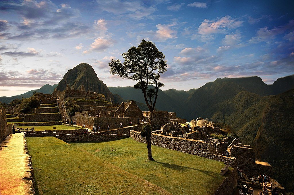 Machu Picchu at sunset