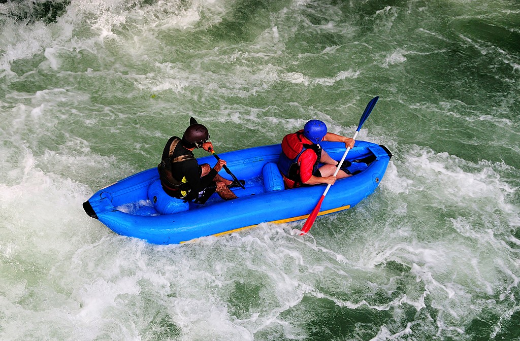 You'll together brave the rapids on Río Pacuare, one of the best rafting rivers on earth