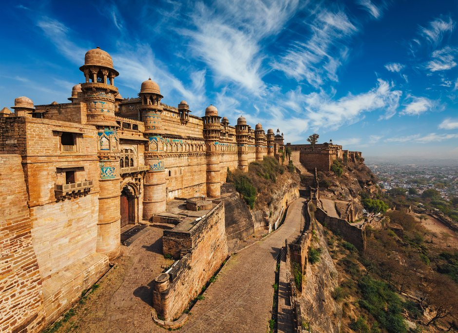 Kick off the trip with an afternoon in Gwalior Fort