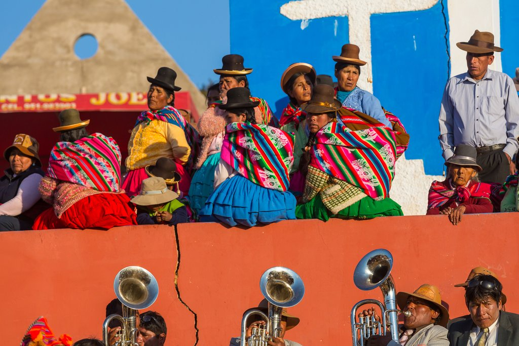 Colorful Carnival in Puno, Peru