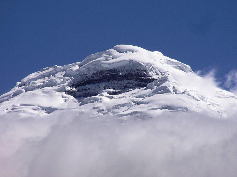 Snowy massif