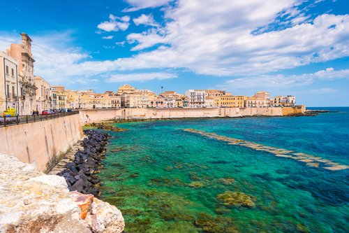 Sicily's east coast is a colorful and vibrant region.