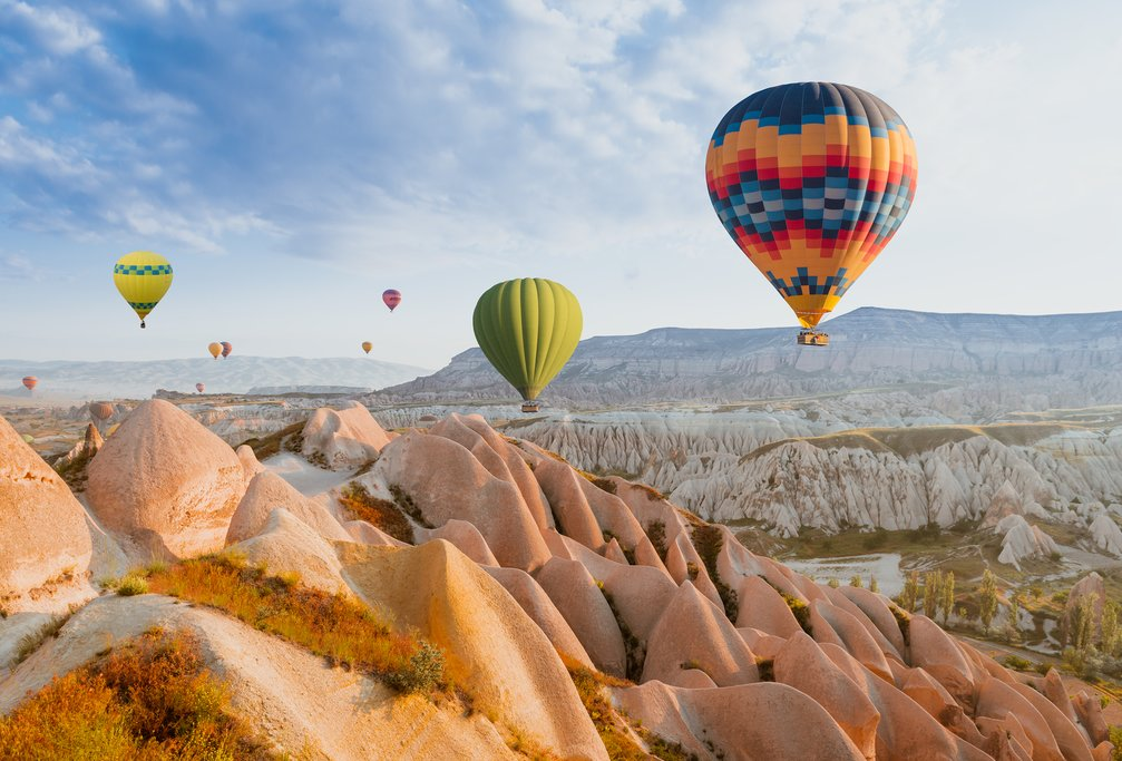 Famous Hot Air Balloons in Cappadocia