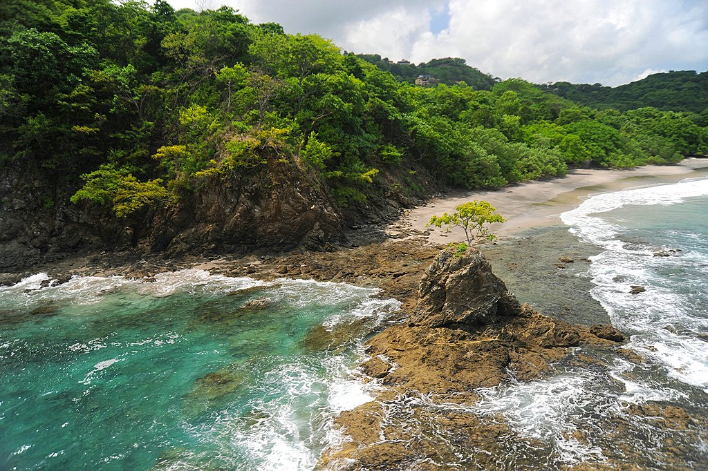 Costa Rica's dramatic Western coastline