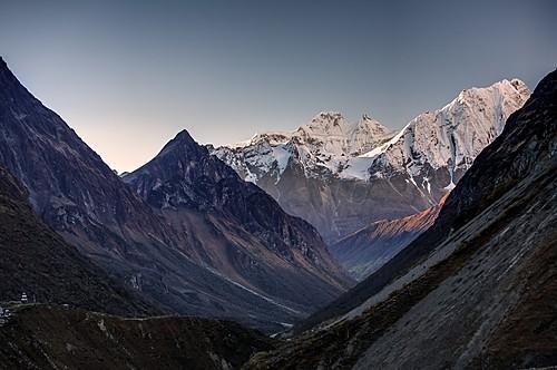 Beautiful valleys along the Manaslu Circuit trek