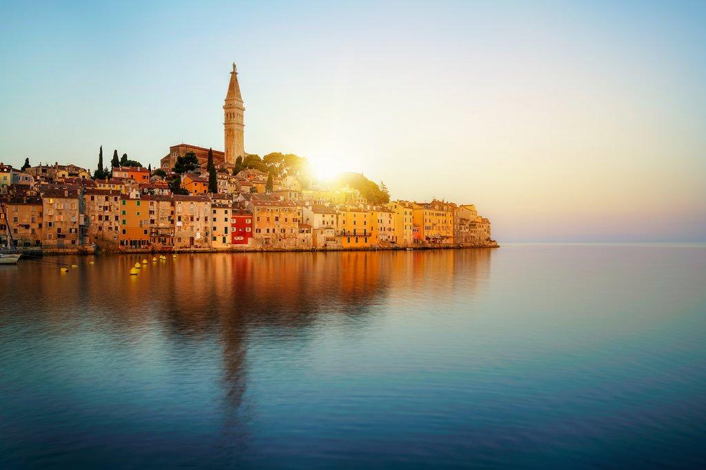 The beautiful coastal city of Rovinj