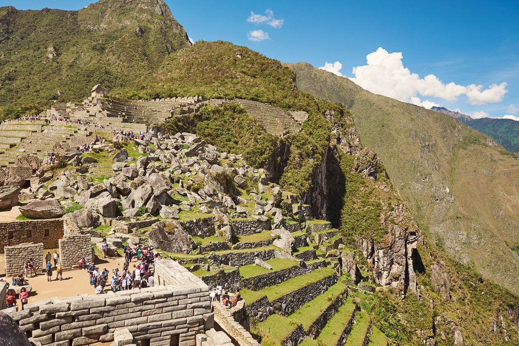 Machu Picchu in November