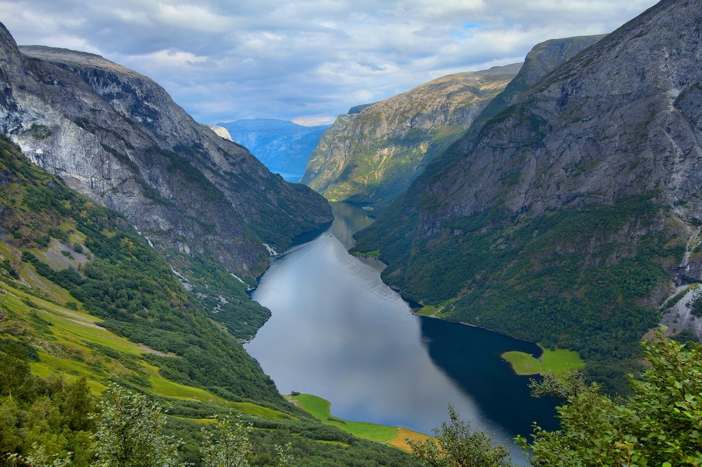 Stay a night in Gudvangen on the shore of Naeroyfjord