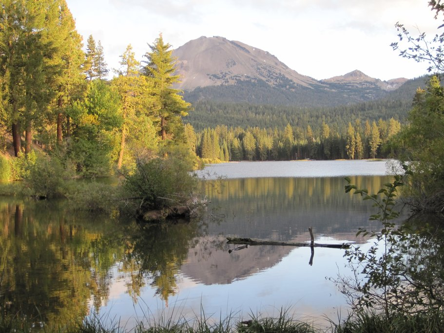 Manzanita Lake in Lassen