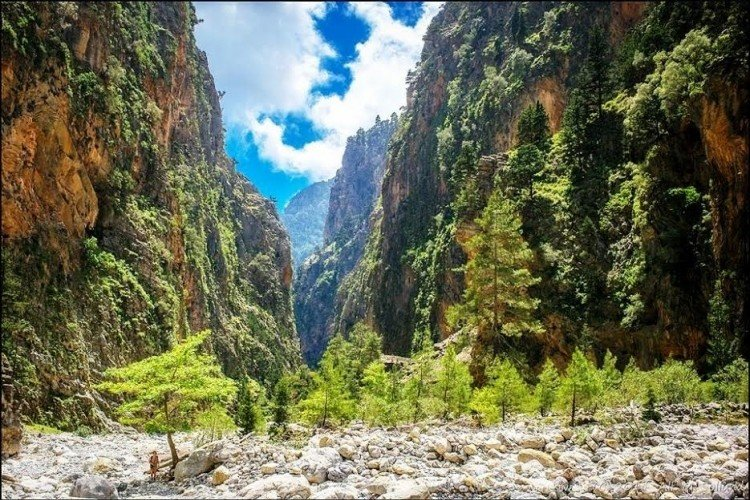 Hike through Samaria Gorge
