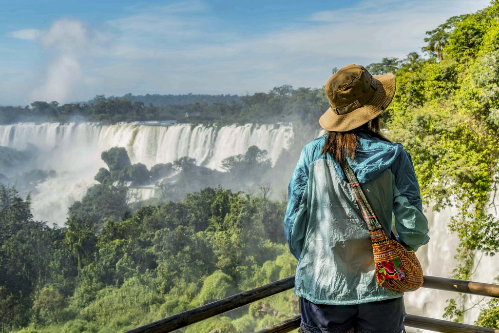 Discover breathtaking Iguazu Falls