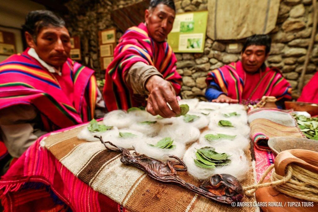 Kallawaya ceremony in Apolobamba National Park