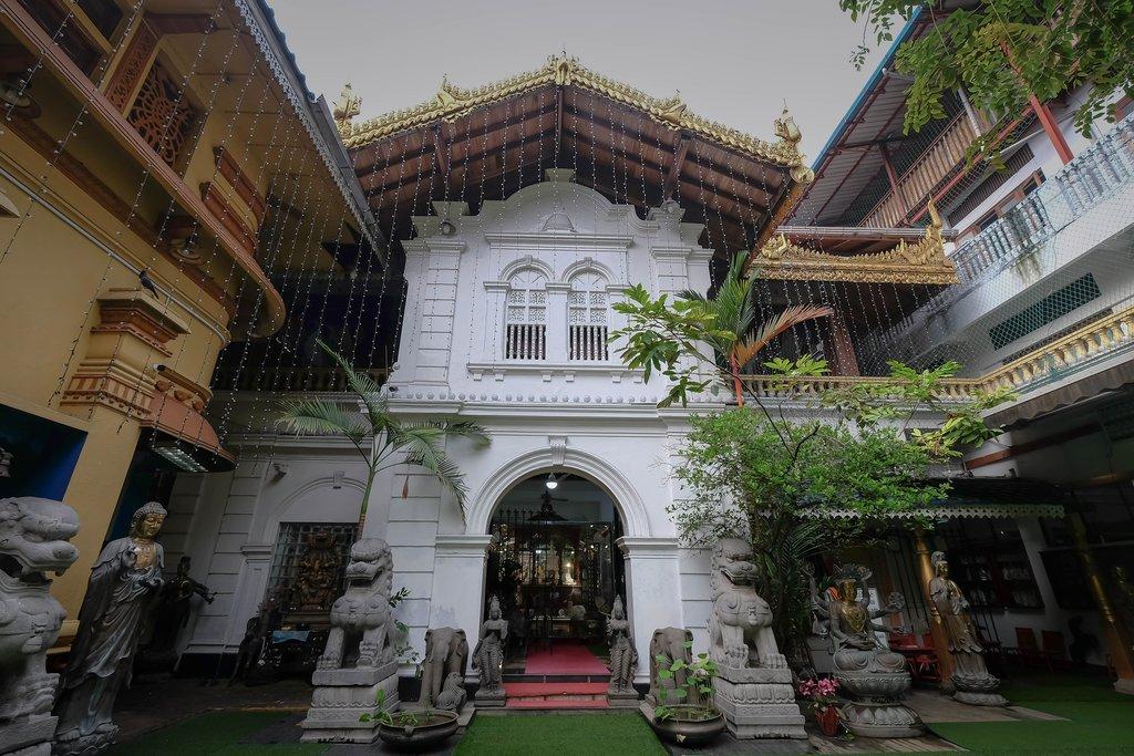 The Seema Malaka Temple in Colombo, Sri Lanka