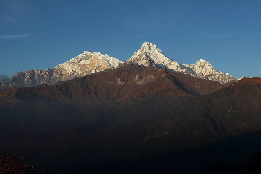 Annapurna South, one of the main views you'll see along this trek