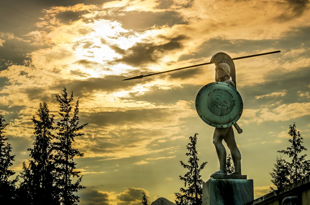 Statue of Leonidas at Thermopylae