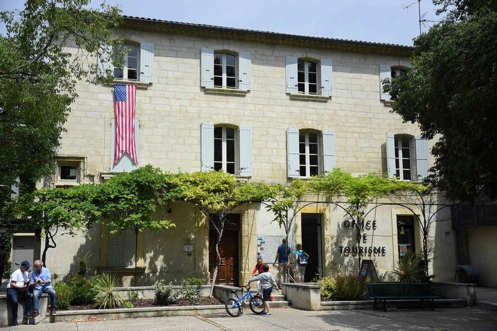 The american flag in Provence