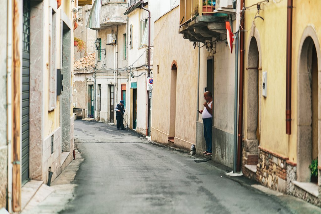 Cozy street in Savoca