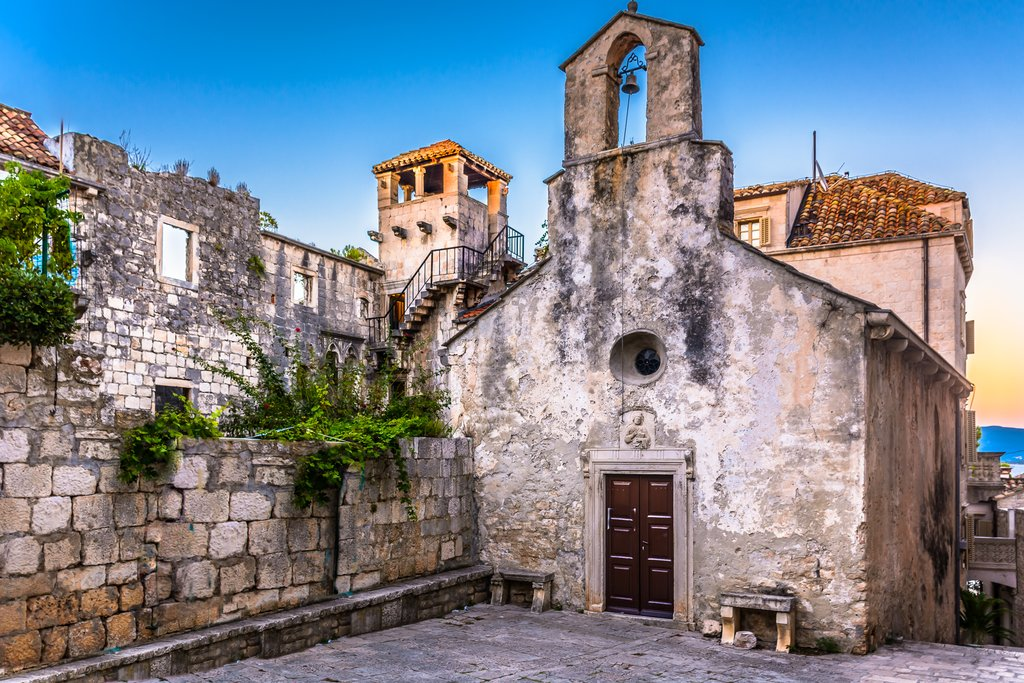 Savor Dalmatian cuisine and sip native wines in Marco Polo's hometown of Korčula