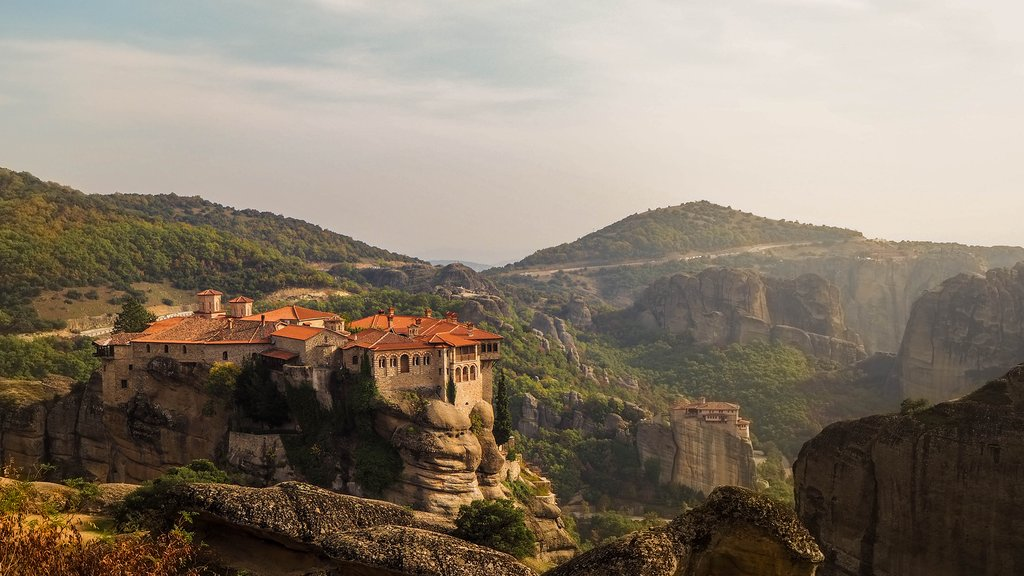 Monastery of the Holy Trinity in Meteora