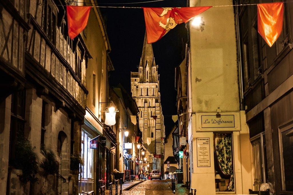 Bayeux at Night