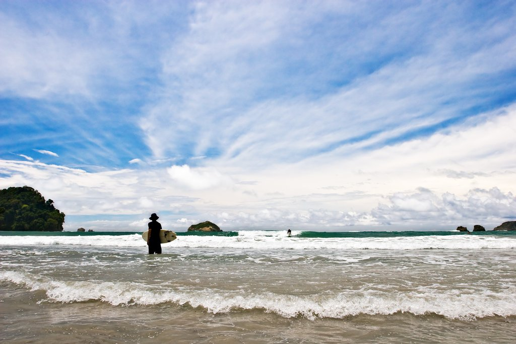 Costa Rica's surf spots draw surfers from around the world