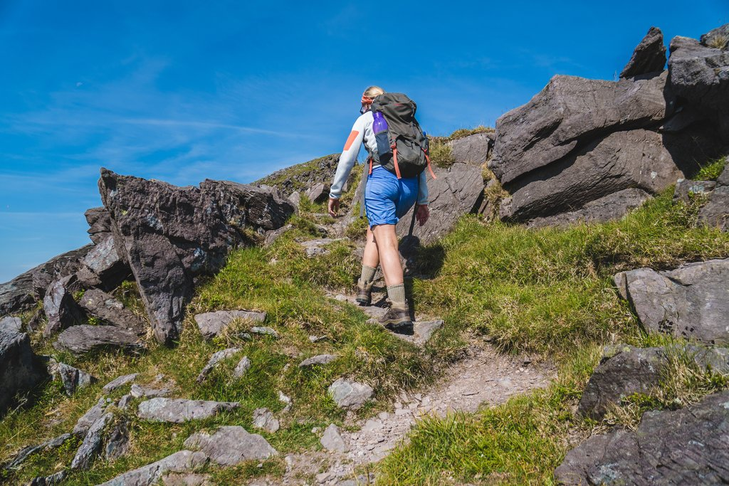 Hiking Ireland's highest mountain, Carauntoohil