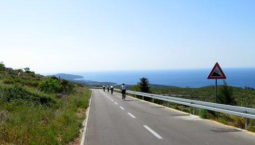 Cycling tours Dalmatian coast