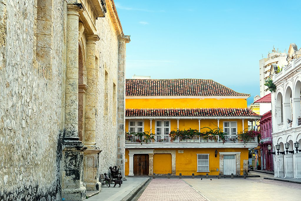 Cartagena's walled city
