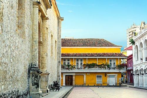 Cartagena's walled city