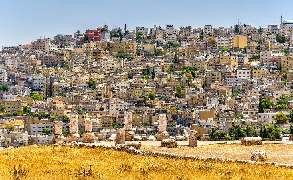 Amman and Roman ruins of the Citadel
