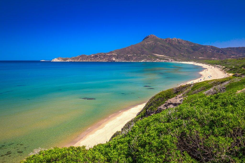 San Nicolo and Portixeddu Beaches, Sardinia