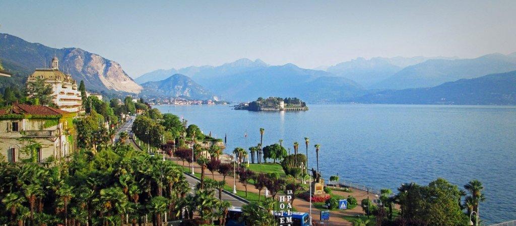 Overlooking Isola Bella, Lake Maggiore
