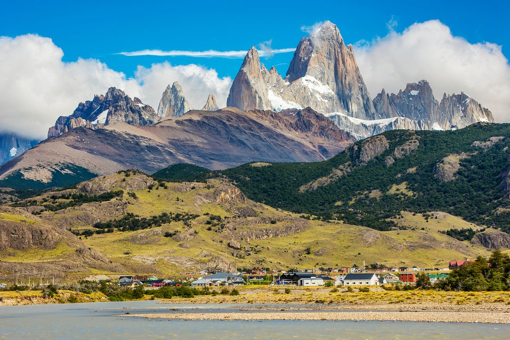 A view of Fitz Roy from El Chalten