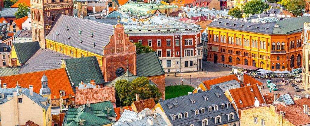 A view of historic Riga