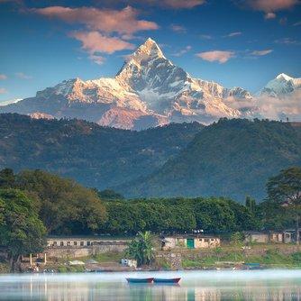 Machhapuchhre Himal, Pokhara, Nepal