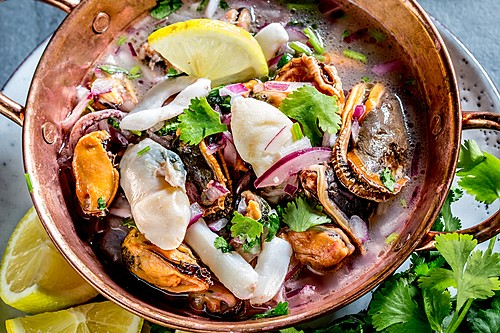 Ceviche, Peru's national dish