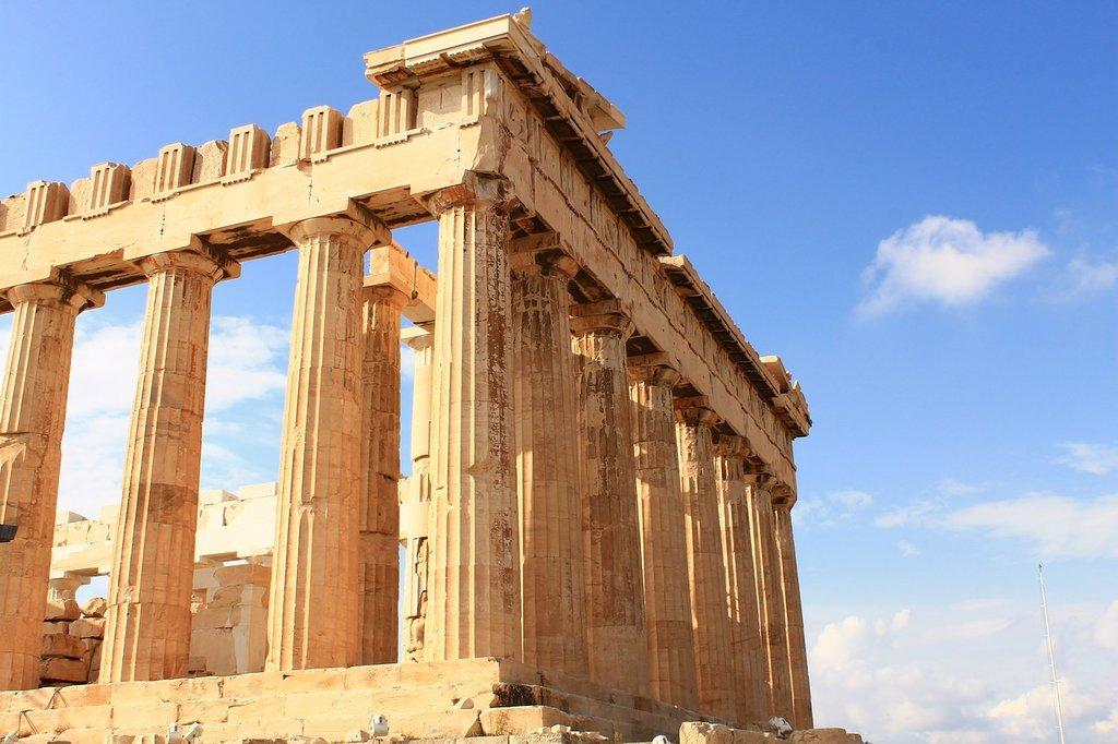 The Parthenon in Athens (Photo courtesy of Pixabay)