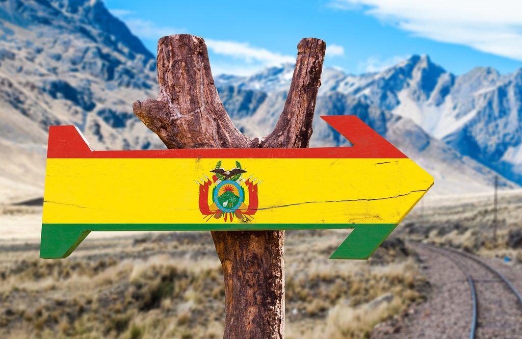 Trekking through Bolivia