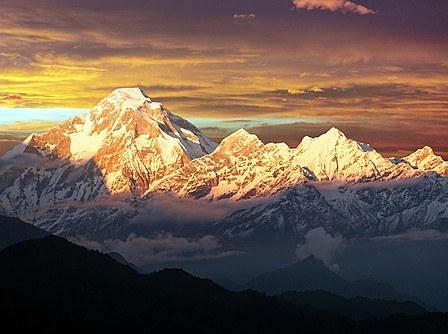 The epic Dhaulagiri