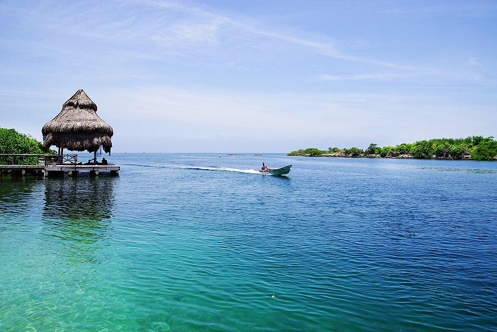 Isla Grande off the coast of Cartagena