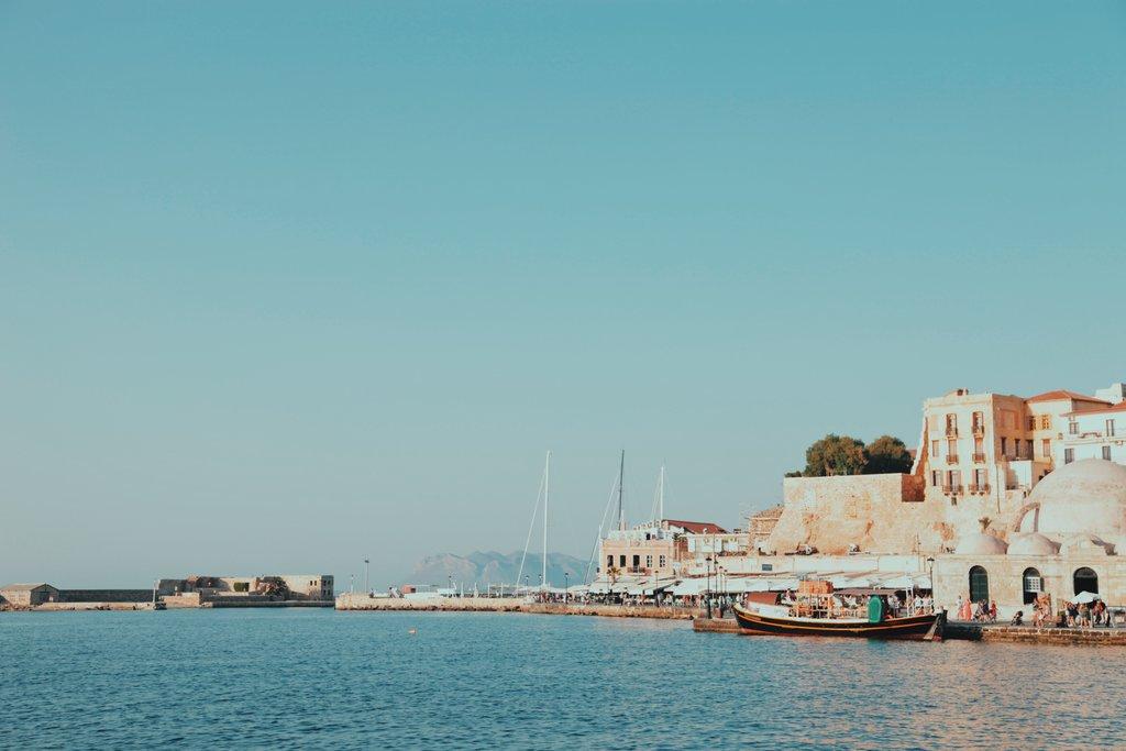 Chania shoreline