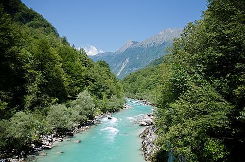 The Soča Valley is ideal for hiking and rafting in the same day