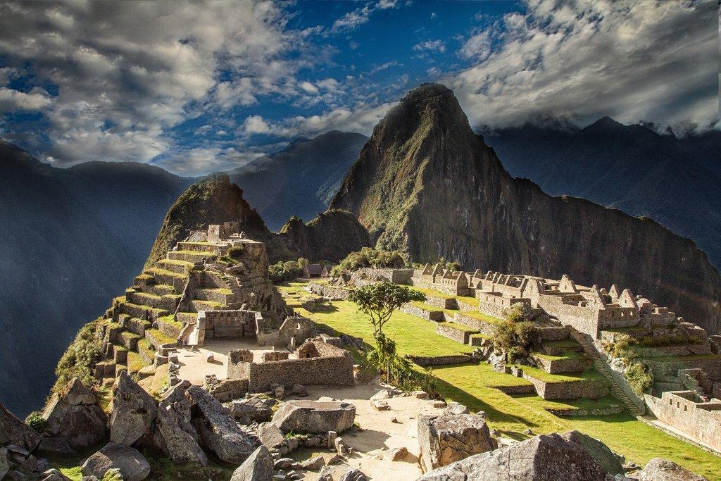 The ancient citadel of Machu Picchu